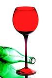 抽象酒背景设计 免版税库存照片