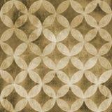 抽象重叠的圈子无缝的样式 库存图片