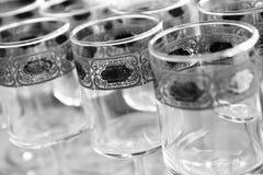 抽象重点玻璃 免版税库存照片