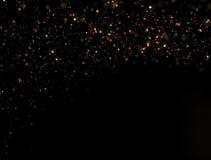 抽象金子闪烁爆炸 免版税库存图片