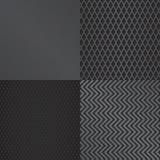 抽象金属格栅样式背景集合 库存例证