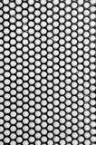 抽象金属格栅特写镜头纹理 免版税库存照片