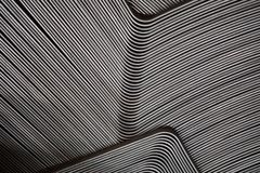 抽象金属线 库存照片