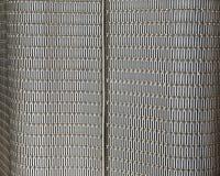 抽象金属网格墙壁 库存照片