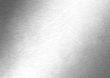 抽象金属背景-银色表面patterm -金属化纹理 库存图片