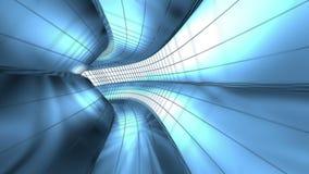 抽象金属隧道 影视素材