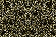 抽象金模式 黑暗的纹理 l五颜六色的背景 图库摄影