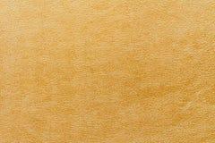 抽象金皮革纹理 免版税图库摄影
