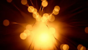 抽象金黄亮光 影视素材