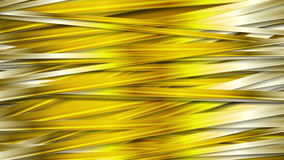 抽象金黄条纹纹理录影动画 皇族释放例证