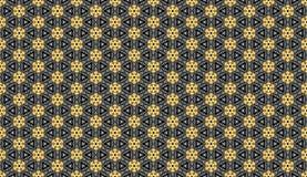 抽象金黄样式背景墙纸 库存照片