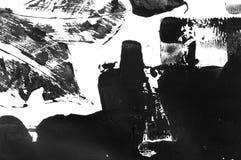 抽象钢板蜡纸艺术,贷方印刷品 免版税库存图片