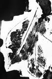 抽象钢板蜡纸艺术,贷方印刷品 图库摄影