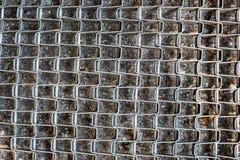 抽象钢滤网纹理,概念图象 库存图片