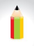 抽象铅笔 库存照片
