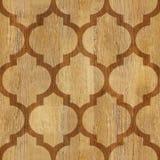 抽象铣板样式-无缝的背景-木纹理 库存图片