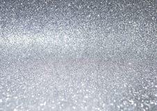 抽象银色闪烁纹理背景 库存图片
