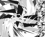 抽象锋利背景 与sca的单色几何图象 皇族释放例证