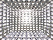 抽象镀铬物模式 皇族释放例证