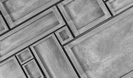 抽象长方形构筑背景 库存例证