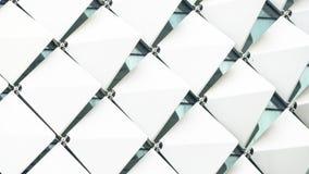 抽象长方形正方形样式白色 库存图片
