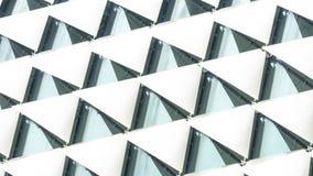 抽象长方形正方形被折叠的样式白色梯度 免版税库存照片