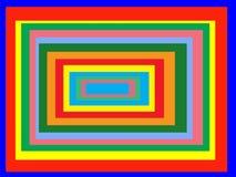 抽象长方形 免版税库存照片