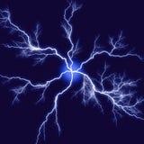 抽象闪电 库存例证