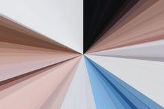 抽象闪耀光线和点燃火光背景 五颜六色的条纹射线样式 趋向上色背景 横幅,小册子 免版税库存图片
