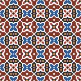 抽象阿拉伯伊斯兰教的无缝的几何样式背景 也corel凹道例证向量 免版税库存照片