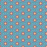 抽象阿拉伯伊斯兰教的无缝的几何装饰品样式 向量 免版税库存图片