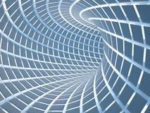 抽象隧道, 3D 免版税库存图片