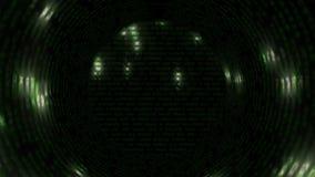 抽象隧道-矩阵 影视素材
