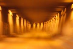抽象隧道 免版税库存照片