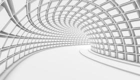 抽象隧道3d背景 免版税图库摄影