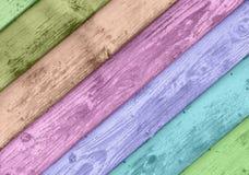 抽象难看的东西五颜六色的木纹理 免版税库存照片