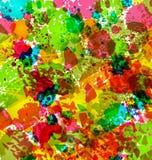 抽象难看的东西背景,五颜六色的迷离 皇族释放例证