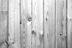 抽象难看的东西背景-黑白木墙壁 库存照片