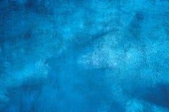 抽象难看的东西蓝色背景 库存照片