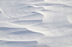 抽象雪背景 免版税图库摄影