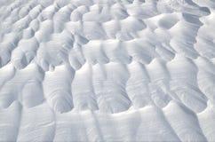 抽象雪背景 免版税库存图片