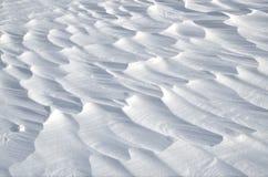 抽象雪背景 图库摄影