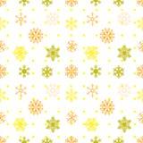 抽象雪花无缝的背景 传染媒介EPS 10 库存图片