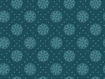 抽象雪花格子花呢披肩无缝的样式 库存图片