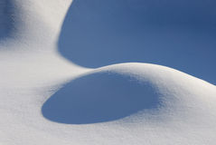 抽象雪 免版税库存图片