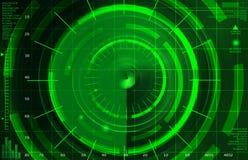 抽象雷达 库存照片