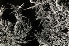 抽象霜模式 免版税库存照片