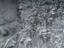 抽象霜纹理 图库摄影