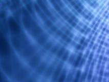 抽象靛蓝色灯光管制线 库存例证