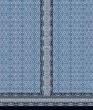 抽象靛蓝kurti主题背景 皇族释放例证